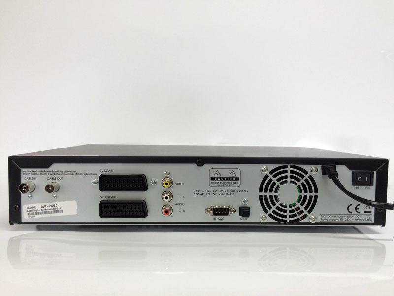 kabel deutschland festplatten receiver humax dvr 9900c 160 gb 4043745899498 ebay. Black Bedroom Furniture Sets. Home Design Ideas